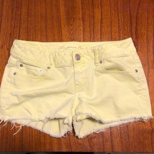 American Eagle stretch cutoff jean shorts